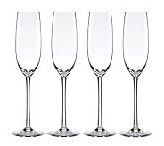 Lenox Tuscany Classics Set of 4 Fluted Champagne Glasses - H364701