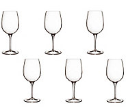 Luigi Bormioli 11-oz Palace Wine Tasting Glasses - Set of 6 - H364901