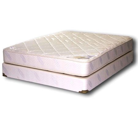 Natural Contour Cameo Firm Queen Mattress Set — QVC