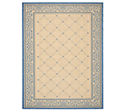 Safavieh Courtyard Lattice Flower 7 10 x 11Rug - H179002