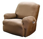 Sure Fit Stretch Stripe Recliner Slipcover - H180602
