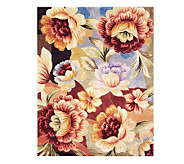 Royal Palace Watercolors Floral Dream 76 X 96 Wool Rug - H190202