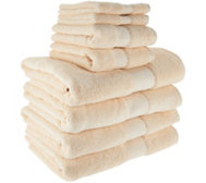Northern Nights 8 piece 600gsm Towel Set
