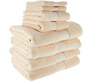 Northern Nights 8 Piece 600gsm 100Cotton Towel Set - H209102