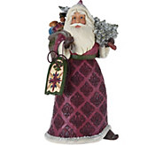 Jim Shore Victorian Santa with Toy Bag Figurine - H212502