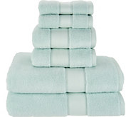As Is Casa Zeta-Jones 6pc. Cotton Rayon Bamboo Towel Set - H215402