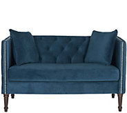 Sarah Tufted Settee with Pillows by Safavieh - H286102