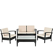 Safavieh Piscataway 4-Piece Outdoor Set - H286202