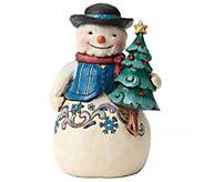 Jim Shore Winter Wonderland Snowman with Tree - H290202