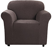 Sure Fit Stretch Chenille 1-Piece Chair Slipcover - H292302