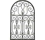Baroque Metal Wall Decor by Valerie - H292502