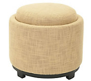 Chelsea Round Tray Ottoman - H361402