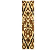 Safavieh Capri Collection Ikat 23 x 9 Wool and Viscose Rug - H362702