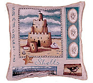 Sea and Shore Pillow by Simply Home - H161003