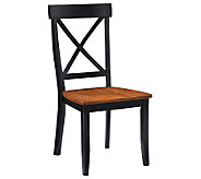 Home Styles Set of 2 Black Dining Chairs - H176403
