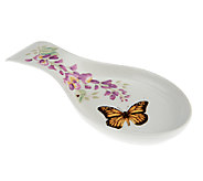 Lenox Butterfly Meadow Porcelain Spoon Rest - H199503
