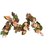 Metallic Beaded Fruit 18 Wreath or 4 Garland Collection - H203803