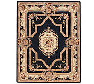Royal Palace French Savonnerie 7 x 9 Wool Rug - H205103