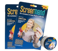 Shp 5/13 ScreenMend S/2 Screen Repair Patch Kit by Lori Greiner
