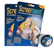 ScreenMend Set of 2 Screen Repair Patch & Roll by Lori Greiner - H209603