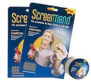 ScreenMend Set of 2 Screen Repair Patch & Roll by Lori Greiner - H209603