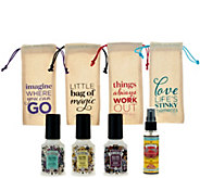 Poo-Pourri Set of 4 2 oz. Bathroom Deodorizers in Gift Bags - H209803