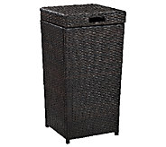 Crosley Palm Harbor Outdoor Wicker Trash Bin - H282903