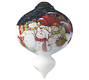 Christmas is Better Together Ornament by NeQwa - H287603