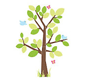 RoomMates Kids Tree Peel & Stick Giant Wall Decal - H348903