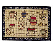 Rustic Cafe 19x27 Tapestry Rug - H349403