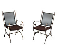 Home Styles Outdoor Sundance Dining Chair Pairwith Cushions - H367903