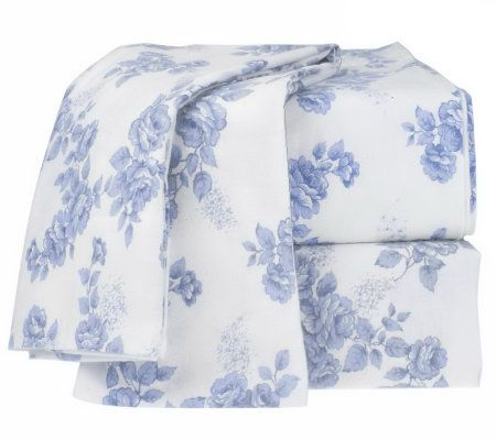 northern nights rose trellis twin flannel sheet set page. Black Bedroom Furniture Sets. Home Design Ideas