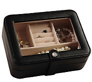 Mele & Co. Rio Faux Leather Black Jewelry Box - H183504