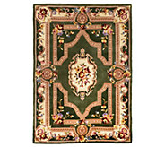 Royal Palace French Savonnerie 5 x 7 Wool Rug - H205104