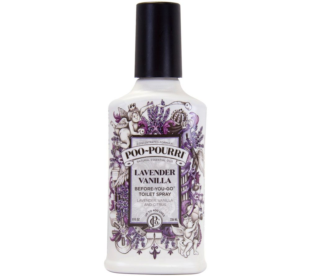 Poo Pourri 8 Oz Deluxe Atomizer Refill Bathroom