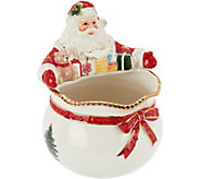 Spode Christmas Tree 6 Santa Bowl - H208804