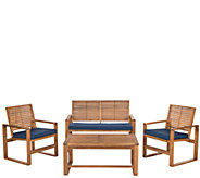 Safavieh Ozark 4-Piece Outdoor Set - H286204
