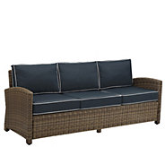Crosley Outdoor Wicker Sofa - Bradenton Collection - H289604