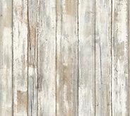 RoomMates Distressed Wood Peel & Stick Wall Decor - H291104