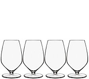 Luigi Bormioli T-Glass Set of Four 11.75-oz Sauvignon Glasses - H291604