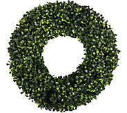 Pure Garden 16.5 Round Boxwood Wreath - H291704