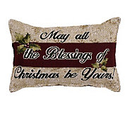 May all the Blessings of Christmas Pillow - H361604