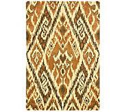 Safavieh Capri Collection Ikat 3 x 5 Wool and ViscoseRug - H362704