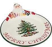 Spode Christmas Tree 12 Santa Platter - H208805