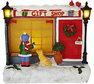 Plow & Hearth Illuminated Festive Holiday Window Shopper Scenes - H211605