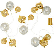 Kringle Express Shatterproof 6 Lit Ornament Cluster Garland - H212905