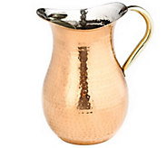 Old Dutch International Copper-Plated HammeredWater Pitcher - H288105