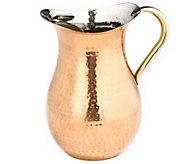 Old Dutch International Copper-Plated HammeredWater Pitcher - H288105