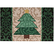 Waverly 21 x 33 Christmas Tree Accent Rug byNourison - H293105
