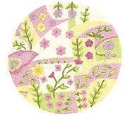 Princess Garden 3 Wool Round Rug - H142306